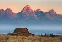 US: rocky mountains (co.id.mt.wy) / Places to explore in Montana, Wyoming, Idaho, and Colorado. / by robin y.