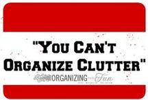 Organize It! / by Shae Cabby