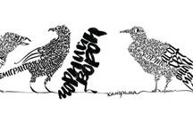 Dada,caligramas,collage,I.S y ...... / by Carolina Revilla Damas