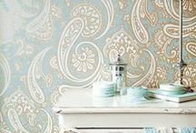 Wallpaper, Painting , Stenciles,and Other Coverings / by florine white