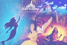 """Disney Obsession / """"I only hope that we never lose sight of one thing: that it was all started by a mouse.""""-Walter Elias Disney (1901-1966) / by Michela Risolo"""