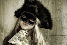 Masked Dreams/Commedia dell' Arte / by Gabriela Rosso