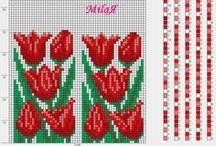 sznury szydełkowo-koralikowe wzory / by Elżbieta Liberkowska