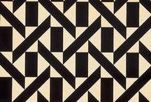 Geometrics patterns ∣ Motifs géométriques / by atelier lilikpo