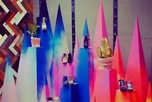 Retail display and product packaging ideas / Ideas for window displays, displaying products and packaging ideas. / by Pinky Bear Designs - unique laser cut gifts & home decor from wales