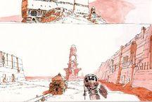 CONCEPT ART_scenario / by Ernesto Merello Vilar