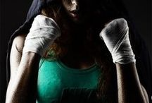 Boxing & kickboxing / by Amber