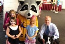 Reach out for Kosair Kids / A charity event hosted by the Shriners that helped Kosair Charities. This year they raised over $26,000 this year! We were proud to have Jay, Radar and our friend Poppy from Flora Templeton Stuart's office in attendance.  / by BG TODAY SHOW