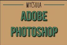 Adobe Photoshop / Adobe Photoshop CS4 is an image editing software that is used by professionals and novices alike. / by myCSULA