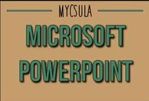 Microsoft PowerPoint / Microsoft PowerPoint is one of the most popular presentation programs avaliable today.This online video series offers basic instructions in creating a PowerPoint presentation, and practical methods to help presenters become effective PowerPoint users. Viewers will get a more in-depth understanding of the difference between an ineffective and effective presentation. / by myCSULA