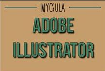 Adobe Illustrator / Adobe Illustrator CS5 is a computer software program used to create and manipulate scalable vector graphics. It is used by artists and graphic designers, but also by people for everyday print and web projects such as invitations or logos. The following online training series showcases several capabilities of Illustrator CS5. / by myCSULA