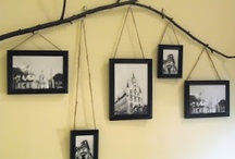 I've Been Framed! / Great ideas for displaying ALL of those photos / by Sunny Dreams