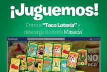 """""""Taco Lotería"""" / Ponle sabor a tus reuniones familiares con la Taco Lotería #MasecaNosGusta  / by Mi Maseca USA"""