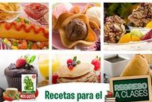 Regreso a Clases/Back to School  / ¡Prepárate para este regreso a clases! Tenemos las mejores ‪#‎Recetas‬ para ti.Prepare for back to school! We have the best ‪#‎Recipes‬ for you  / by Mi Maseca USA