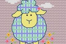 Cross-stitch addict. / I absolutely love crosstitching. And I am always on the look out for new patterns and ideas. / by Marie Bowden
