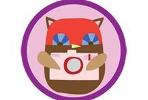 Digital Photographer Badge -- Junior Girl Scout Badge Ideas / Requirements for earning the Digital Photographer Junior Badge--  Step 1: Learn about digital cameras from an expert.  Step 2: Take tons of photos.  Step 3: Edit three photos.  Step 4: Make a digital photo project.  Step 5: Share your photos. / by Junior Girl Scout Badges