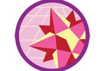 Entertainment Technology Badge -- Junior Girl Scout Badge Ideas / Requirements for earning entertainment technology Junior badge--  Step 1: Animate your own artwork.  Step 2: Dig into video game development.  Step 3: Try the science of amusement part rides.  Step 4: Creat your own special effects.  Step 5: Surf a sound wave. / by Junior Girl Scout Badges