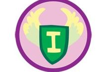 Independence Badge -- Junior Girl Scout Badge Ideas / Requirements for earning the Independence Junior Badge--  Step 1: Get transportation smart.  Step 2: Make your clothes look great.  Step 3: Break a bad habit.  Step 4: Help around the house.  Step 5: Show off your independence! / by Junior Girl Scout Badges