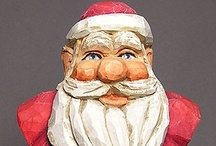 Santa / by the Basswood Man
