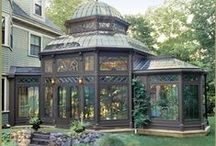 Greenhouses and Terrariums / Beautiful Greenhouses and Terrariums! / by Marty Lawal
