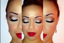 Natural Makeup look mixed race skin