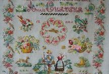 Cross stitch Sampler (Old - New) / From history up to now / by nurdan kanber