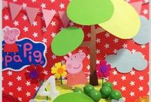 Festa Peppa Pig / by Luciane Martins