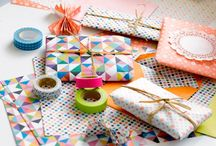 Paper & Tape DIY | Wrapping / All these presents are just too awesome to unwrap! / by Happy Wrapping