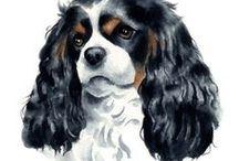 Dogs in Art / by Myrna Reid