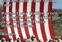 Patriotic-God Bless America / by Lela Long