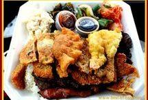 DA KINE ONO GRINDZ FOR KAU KAU / food hawaiian island -style / by Greg Letson
