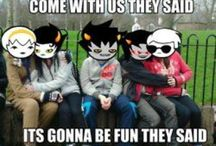 HOMESTUCK / My own little board full of ships, trolls, and basically anything homestuck related. / by Sophia Aguirre