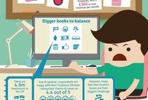 Interesting Infographics / Interesting infographics concerned with self-employment in the UK / by Boox Online Accounting