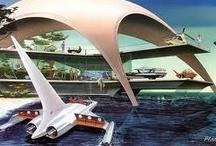 Futuristic architecture / #futuristicarchitecture, #arquitecturafuturista, #futuristic, #futurist, #futurista, #futuristicbuildings, #construccionesfuturistas, #edificiosfuturistas,#buildingsofthefuture, #space architecture, #arquitecturaespacial, #futurearchitecture, #arquitecturadelfuturo,  / by Franz