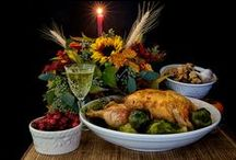 MAY THE FEAST BEGIN ... THANKSGIVING / by margo