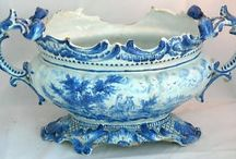 BEAUTIFUL BLUE & WHITE / by The Victorian Cow
