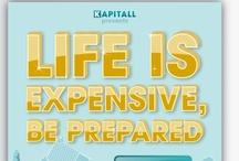 Investing Infographics / Kapitall Originals: Beautiful and insightful data visualizations  / by Kapitall