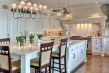 Dream Kitchens / Get ideas for designing your dream kitchen,from flooring to sinks to kitchen islands.  / by HGTVRemodels.com