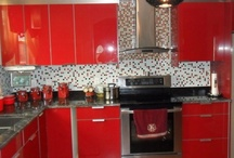 Energize With Red / Daring and bold, red commands attention. Energize a room with this fiery hue.  / by HGTVRemodels.com