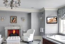 Sophisticated Gray / If you long for serenity, using the color gray in your home decor is a great place to start. Gray has an inherent calmness and sophistication. / by HGTVRemodels.com