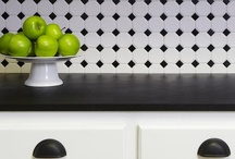 Black and White Rooms / by HGTVRemodels.com
