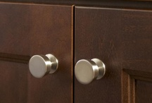Hardware / Button Hardware! >> http://www.hgtvremodels.com/interiors/layering-green-in-a-girls-bedroom/index.html?soc=pinterest / by HGTVRemodels.com