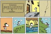 Peanuts by Charles Schulz / by Abby Ferrier