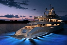 Luxury Boats & Yachts / by watchuwant.com