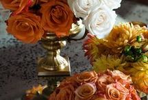 ~ Autumn Wedding ~ / Fall ~ leaves ablaze with rich colors of gold, cranberry, pumpkin, copper and bronze...  Autumn Wedding is about an elegant evening wedding with the translation of these beautiful colors. / by Cathi Rafalski