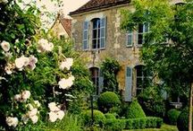 ~ French Country House II ~ / French Country, Rustic French, Classic Traditional French interiors and French Country Houses; love them all!  For French cottages, please visit my Cottage Love board.  Please be courteous and pin only 10 each day ~ otherwise, you will be blocked! Thank you!  / by Cathi Rafalski