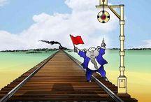 Harvell cartoons / by Greenville News