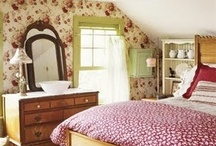 Bedroom Dreaminess / Magical rooms for those hours we slumber / by Amy Tipton