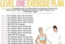 Workout time! / Workout tips and challenges / by Sanna Oquin