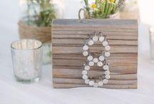 Wedding decorations / Ideas for wedding table decorations / by Tuddenham Mill